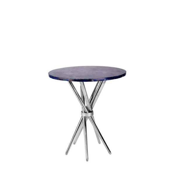 Retro Table in Stainless Steel