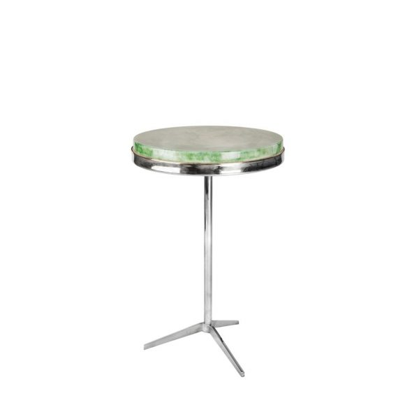 Tripod Table Stainless Steel with Apple Top